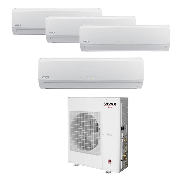 Vivax multi split sistem sa četiri unutrašnje inverter ACP-36COFM105GEEI